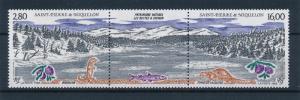 [49071] Saint Pierre & Miquelon 1993 Landscape Fish MNH