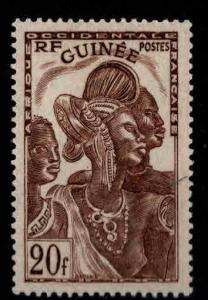 FRENCH GUINEA Scott 160 MH* stamp