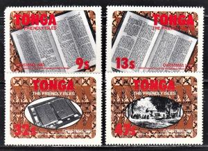 Tonga Scott 493-96  complete set  F to VF mint.