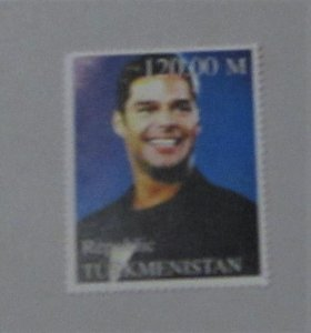 Turkmenistan - MNH Unauthorized Stamp. Famous Personality