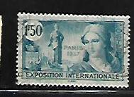 FRANCE, 324, USED, PARIS EXPO. ISSUE