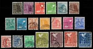 Germany #557-577 Complete Set of 20; Used