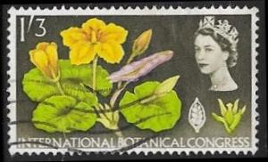 Great Britain 417 Used - International Botanical Congress  - Elizabeth II