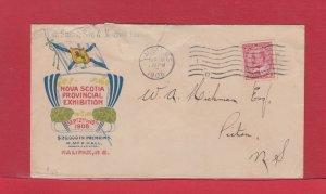 NOVA SCOTIA PROVINCIAL EXHIBITION 1908 colour see scans Halifax Edward Canada