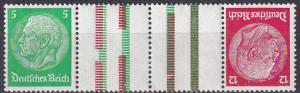 Germany #392, 406 Tete-Beche Gutter Pair MNH CV $16.50 (A19942)