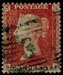 SG SPEC C6(1), 1d red-brown PLATE 10, LC14, FINE USED. GREEN POSTMARK