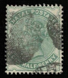 1880-1889 Queen Victoria 1/2P (TS-516)