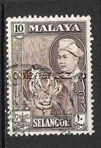 MALAYA SELANGOR 107 VFU TIGER R94-1
