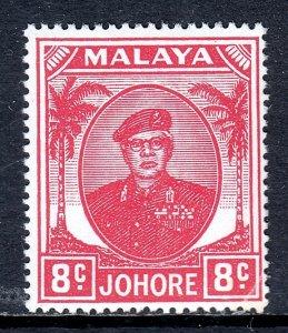 Malaya (Johore) - Scott #136 - MH - Small corner crease LR - SCV $4.00