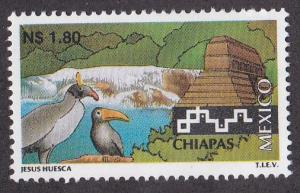 Mexico # 1961, Tourism issue, Chiapas, NH