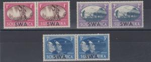 SOUTH WEST AFRICA  1945  VICTORY SET     MH