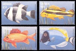 Grenada MNH 2735-8 Fish Marine Life 1998