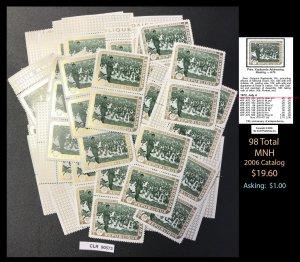Rwanda Dealer's Lot ~ Sct. 470 ~ 98 tot Cat: $ ~ CLR90573