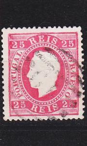 PORTUGAL [1870] MiNr 0038 C ( O/used )
