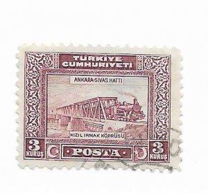 Turkey #679 Used CAT VALUE $1.50