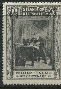 British Foreign Bible Society cinderella mint o.g. hinged  (41)