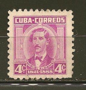 Cuba 521A Miguel Aldama Used