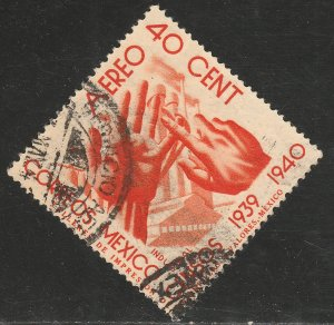 MEXICO C101, 40¢ Census, 1940. USED. VF.