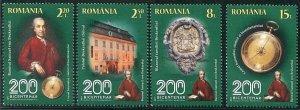 HERRICKSTAMP NEW ISSUES ROMANIA Sc.# 5905-08 National Brukenthal Museum