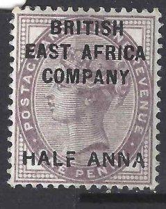 British East Africa 1890 SC 1 MLH SCV $350.00