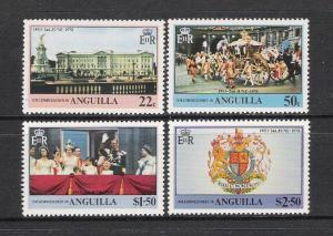 Anguilla MNH 315-8 Silver Jubilee QE II