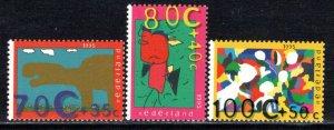 Netherlands Scott # B689 - B691, mint nh