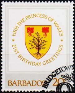 Barbados. 1982 20c S.G.705 Fine Used