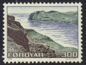 Faroe Islands   #17  1975 MNH definitives 300 ore