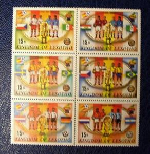 Lesotho 363, World Cup, MNH, VF