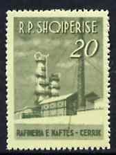 Albania 1963 Naphtha Refinery 20L unmounted mint, Mi 785