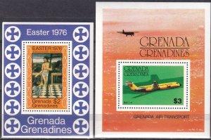 Grenada  Grenadines #173, 688  MNH  CV $3.30 (Z2538)