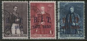 Belgium 1930 Independence set used