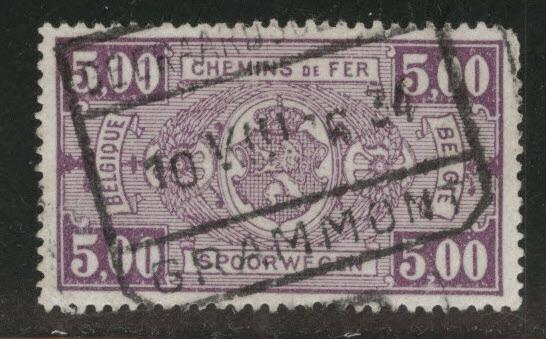 Belgium Parcel Post Scott Q163 Used 1923