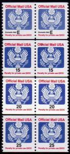 MALACK O138A - O141 (no O139) F/VF OG NH, Nice Set o..MORE.. w3353