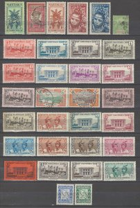 COLLECTION LOT # 4258 MARTINIQUE 32 STAMPS 1892+ CLEARANCE CV+$13