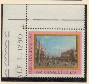 Italy 1968 MNH Mint Unmounted Early Issue Fine 50L. NW-124106