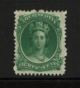 Nova Scotia SC# 11 Mint Hinged / Hinge Rem - S8323