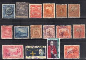 NICARAGUA  LOT# #2  VERY NICE USED STAMPS  SEE SCANS