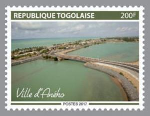Togo - 2017 Aneho Town - Stamp - TGLocal07a