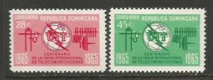 Dominican Republic C144-45 MNH V308-1