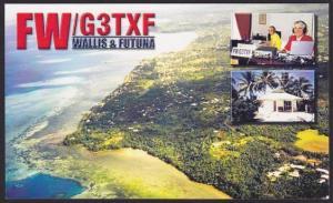 WALLIS & FUTUNA 2000 Wallis Island radio QSL card...........................1651