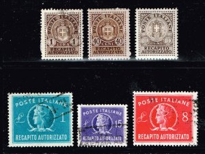 ITALY STAMP Authorized STAMPS COLLECTION LOT