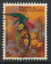 Papua New Guinea SG 121  SC# 249 Used Territory Parrots Christmas