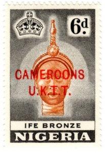 Cameroons Scott 72 (1960:Type of Nigeria 1953 (Scott 86) Overprinted in Red)