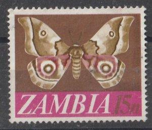 Zambia 1968 Various Designs 15n (1/12) USED