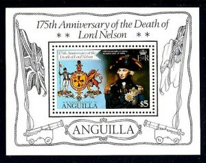 ANGUILLA - 1981 - DEATH OF LORD NELSON - 175th ANNIVERSARY - MINT - MNH S/SHEET!