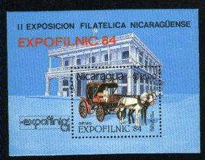 Nicaragua C1047 SS Mint NH VF 1984 PD