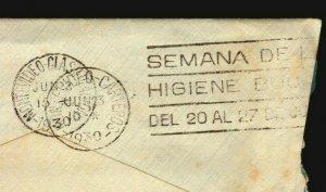 1930 Uruguay slogan medical cancel postmarks Dentist oral health week scarce