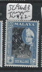 MALAYA  TRENGGANU  (PP0906B)  50C    SG 96AB      MNH