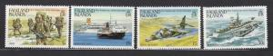 Falkland Islands Dependencies-1983 Anniversary of Liberation Sc# 375/378-MNH2422